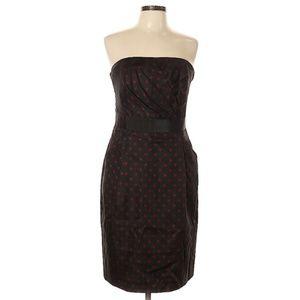 White House Black Market Polka dot Cocktail dress